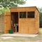Premium Overlap Pent Shed 7' x 5' with Assembly Service FSC image 0