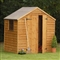 Premium Overlap Apex Shed 7' x 5' with Assembly Service FSC image 0