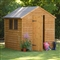 Premium Overlap Apex Shed 8' x 6' with Assembly Service FSC image 0
