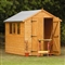 Heavy Duty Shiplap Apex Shed 8' x 6' with Assembly Service FSC image 0