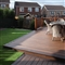 25mm x 140mm Trex Composite Decking Square Board 4.88m Spiced Rum image 2