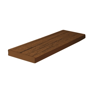25mm x 140mm Trex Composite Decking Square Board 4.88m Spiced Rum