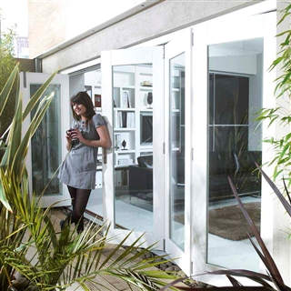 Wellington White Fully Finished Reversible Folding Door [6 Door 1L5R/5L1R/3L3R] 3605mm x 2105mm