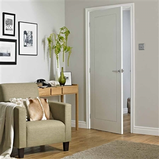 1 Panel Premium Moulded Smooth Door 1981mm x 686mm x 35mm FSC