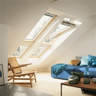 VELUX 1140mm x 920mm Pine Finish Additional Element  GIL SK34 3060