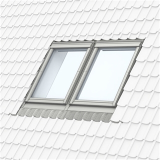 VELUX 942mm x 1600mm (100mm Gap) Coupled Window Slate Flashing EKW PK10 0021E