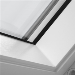VELUX 660mm x 1180mm White Painted Finish Centre Pivot Roof Window  GGL FK06 2070