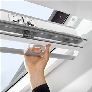 VELUX 660mm x 1400mm White Painted Finish Centre Pivot Roof Window  GGL FK08 2070