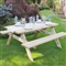 Large Rectangular Picnic Table FSC image 0
