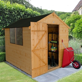 Apex Shiplap Shed 8' x 6' with Onduline Roof FSC