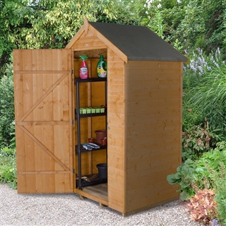 Apex Shiplap Shed 4' x 3' with Assembly Service FSC