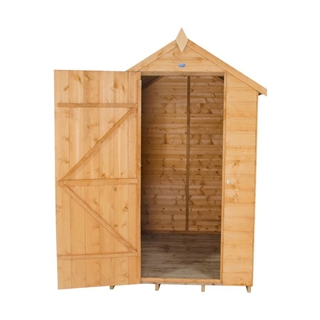 Apex Shiplap Shed 6' x 4' with Assembly Service FSC