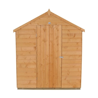 Apex Shiplap Shed 8' x 6' with Assembly Service FSC