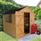 Apex Shiplap Shed 8' x 6' with Onduline Roof and Assembly Service FSC image 0