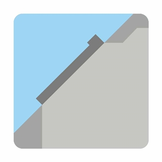 VELUX 550mm x 980mm Conservation White Painted Finish Centre Pivot Roof Window with Slate Flashing  GGL CK04 SD5N2