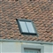 VELUX 550mm x 980mm Conservation White Painted Finish Centre Pivot Roof Window with Slate Flashing  GGL CK04 SD5N2 image 4