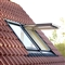 VELUX 780mm x 1400mm Conservation White Painted Finish Top Hung Roof Window with Tile Flashing  GPL MK08 SD5W2 image 1