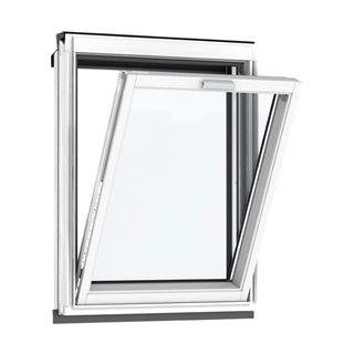 VELUX 780mm x 950mm White Painted Finish Vertical Roof Window --66 Pane  VFE MK35 2066