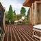32mm x 125mm x 4.5m Walksure Decking Board Charcoal/Red PEFC image 2