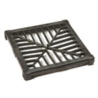 Polypipe Underground Drain 110mm Spare Square Polypropylene Black Grid UG415