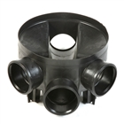 Polypipe Underground Drain 110mm Shallow Access Chamber Base UG437