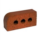 Special Shaped Bricks Smooth Red Single Bullnosed BN.1.2