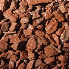 Pre Packed Red Chippings 20mm 25kg