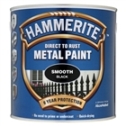Hammerite Smooth Black Paint 2.5 Litre