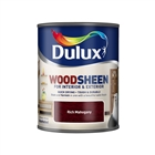 Dulux Water Based Woodsheen Rich Mahogany 750ml