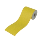 Aluminium Oxide Paper Roll Yellow 115mm x 5m 120g