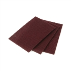 Faithfull Hand Pad Maroon 230mm x 150mm Very Fine (Pack of 10)