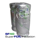 Superfoil Insulation SF40 60mm x 1.5m x 10m (15m²)
