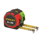 Stanley Hi-Visibility Tape 8m/26ft