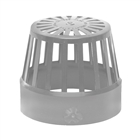 Polypipe Soil & Vent 110mm Vent Terminal (Balloon Guard) Grey SV42