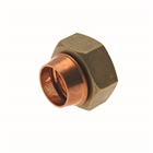 """Endfeed Fitting Straight Cylinder Union 28mm x 1"""""""