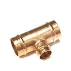 Solder Ring Fitting Reduced Tee 22mm x 22mm x 15mm
