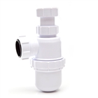 Polypipe Nuflo Adjustable Bottle Trap 75mm Seal 32mm WPT47
