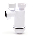 Polypipe Nuflo Anti-Syphon Bottle Trap 32mm WP45PV