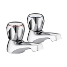 Bristan Value Club Basin Pillar Taps (Pair)
