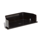 Polypipe Square Rainwater 112mm Gutter Internal Stop End Black RS208