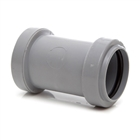 Polypipe Push-Fit Waste 32mm Straight Coupling Grey WP25