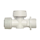 "Polyplumb 15mm x ¾"" Appliance Valve Warm/Cold PB6115"
