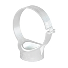Polypipe Soil & Vent 110mm Strap Boss Side Fixing Clip White SG70
