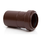 Polypipe Push-Fit Waste 40mm x 32mm Reducer Brown WP27