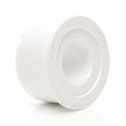 Polypipe Overflow 21.5mm Solvent Weld Reducer to 32mm White S415