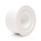 Polypipe Overflow 21.5mm Solvent Weld Reducer to 40mm White S416