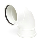 Polypipe Soil & Vent 110mm 92½° Double Socket Bend White SB417