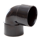 Polypipe Solvent Weld Waste 32mm 90° Knuckle Bend Black WS15
