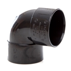 Polypipe Solvent Weld Waste 40mm 90° Knuckle Bend Black WS16