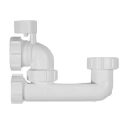 Polypipe Nuflo Low Level Anti-Syphon Bath Trap 40mm WT67PV